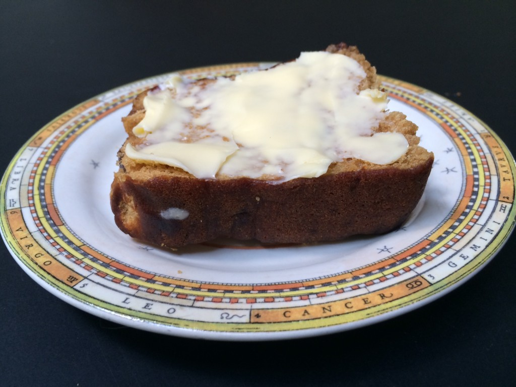 foto peperkoek met zoute boter